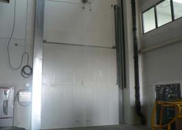 Автоматические подъемные ворота противопожарные