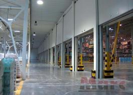 Противопожарные складские ворота с огнестойкостью EI 60