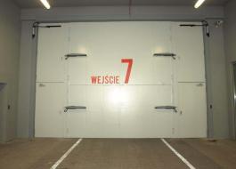 Огнеустойчивые ворота EI60 для гаражей