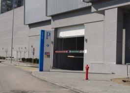 Пожарные промышленные рулонные ворота
