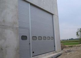 Металлические ворота с калиткой для производства пожароустойчивые