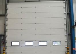 Автоматические пожарные секционные ворота