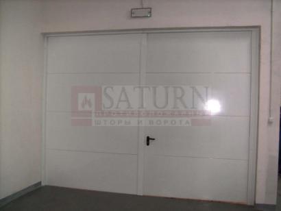 Пожарные гаражные ворота EI60 автоматические